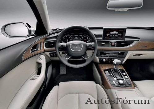 audi a6 belso ter