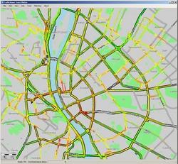 dugó térkép Dugó ellen forgalomfigyelő Jitti okostelefonra dugó térkép